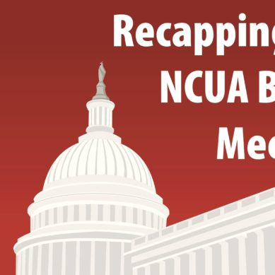 Recapping the May 2020 NCUA Board Meeting