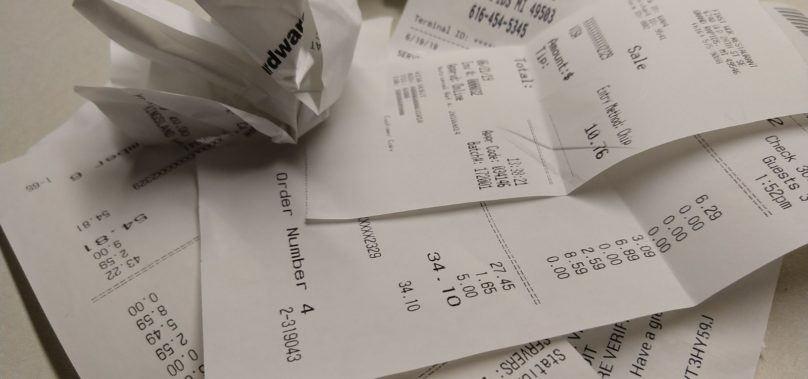 We Need Paper Receipts Like We Need Plastic Straws