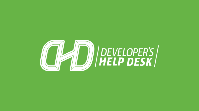 Get to Know the Developer's Help Desk