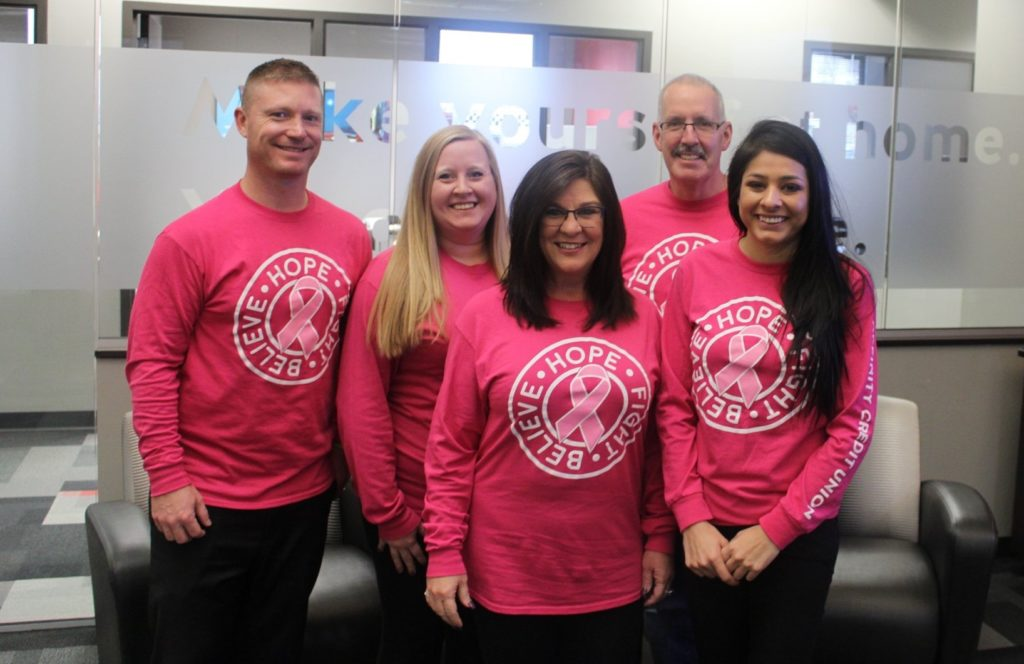 Dean and team supporting Susan G. Komen Foundation