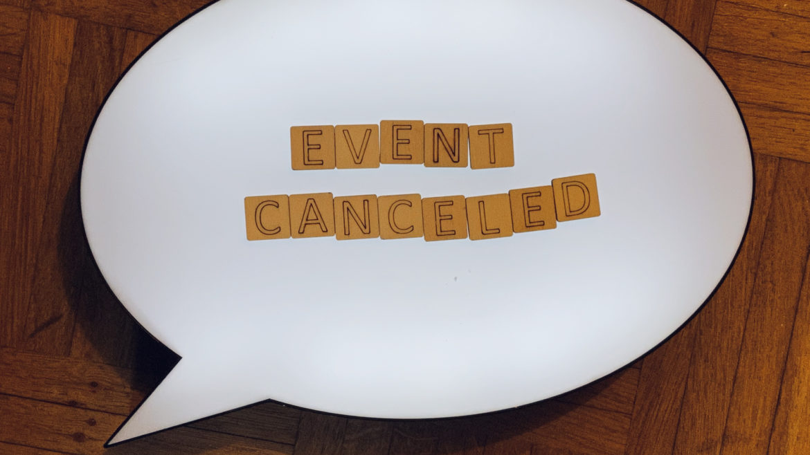 Event Planning in the Midst of a National Shutdown