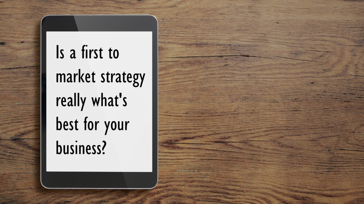 The Advantages of a Second to Market Strategy