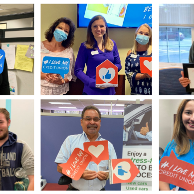 Credit Union Employees and Members Join Together to Celebrate Credit Unions with #ILoveMyCreditUnion
