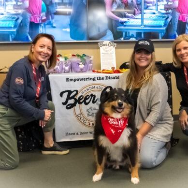 Communi7y Crew Hosts Pop Up With Local Nonprofit Beer City Dog Biscuits